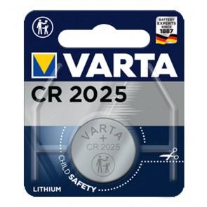 VARTA μπαταρία λιθίου CR2025, 3V, 1τμχ