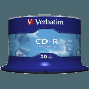 CD ROH Verbatim 80min/ 700MB/ 52x print. 50er-Sp.