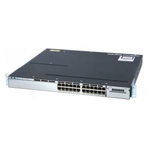 CISCO used Catalyst Switch 3750-X, 24 ports PoE, managed