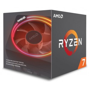 AMD CPU Ryzen 7 2700X, 3.7GHz, 8 Cores, AM4, 20MB, Wraith Prism RGB LED