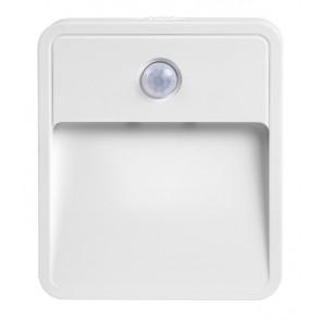 Φωτιστικό τοίχου LED YET6133, με αισθητήρα κίνησης PIR, 0.04W, λευκό