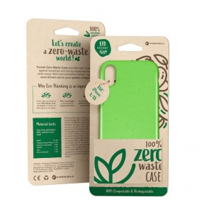 Forcell BIO - Zero Waste Case for XIAOMI REDMI Note 7 green