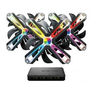 ZALMAN RGB LED kit ανεμιστήρων ZM-SF120A3, Z-Sync controller & 3x SF120